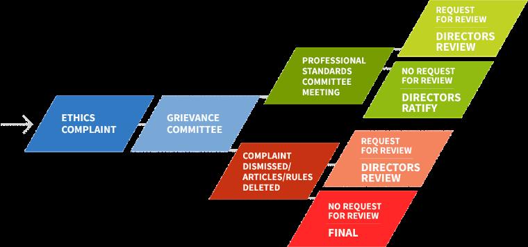 Professional Standards Ethics Flow Process